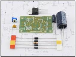 Регулируем стабилизатор от 1,2 до 30V/1A