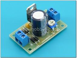 Регулируем стабилизатор от 1,2 до 30V/1A - сглобен