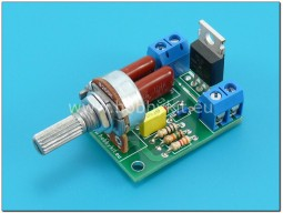 Фазов регулатор 8A 230VAC 1500W - сглобен