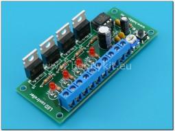 Светодиоден контролер 4 канала - сглобен